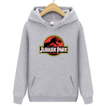 Load image into Gallery viewer, NEW Unisex Vintage Style Jurassic Park Hoodies - iritisencycling-com