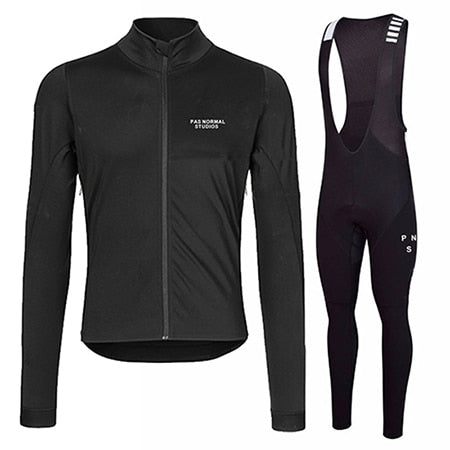 2019 Winter Thermal Fleece Long Sleeve Cycling Jersey - iritisencycling-com