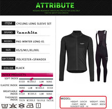 Load image into Gallery viewer, 2019 Winter Thermal Fleece Long Sleeve Cycling Jersey - iritisencycling-com