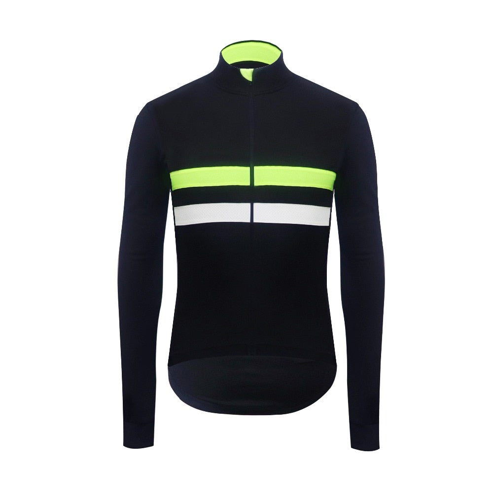 Thermal Fleece Cycling Jersey - iritisencycling-com