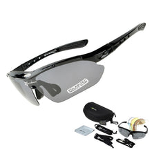 Load image into Gallery viewer, Polarized 5 Lens Durable Cycling Sunglasses Combo - iritisencycling-com