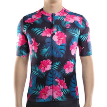 Load image into Gallery viewer, Floral Cycling Jersey - iritisencycling-com
