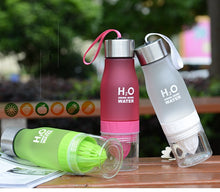 Load image into Gallery viewer, 650ml H2O Lemon Juice Infuser Water Bottle - iritisencycling-com