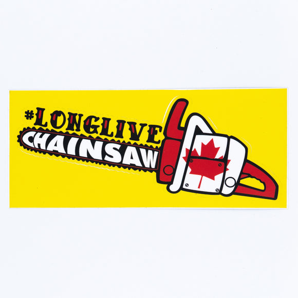Stevie Smith Legacy Fund Sticker - #longlivechainsaw