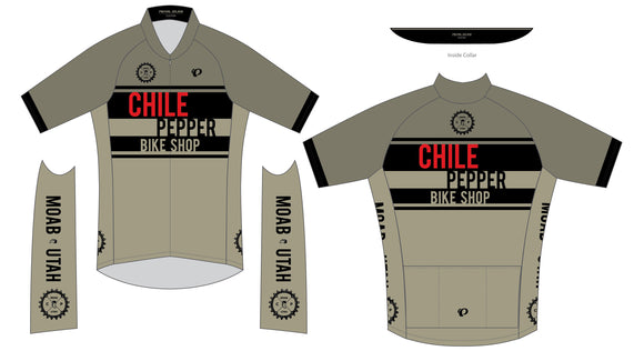 Chile Pepper Bike Shop - Pearl Izumi - Zip Jersey - Mens - Desert