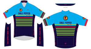 Chile Pepper Bike Shop - Pearl Izumi - Zip Jersey - Mens - Blue/Green