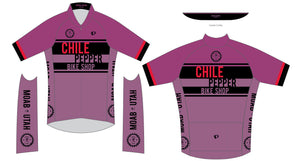 Chile Pepper Bike Shop - Pearl Izumi - Zip Jersey - Womens - Mauve