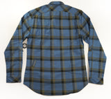 SOMBRIO Mens Vagabond Chile Logo Riding Shirt - Creek Plaid