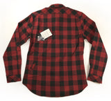 SOMBRIO Mens Vagabond Chile Logo Riding Shirt - Buffalo Plaid