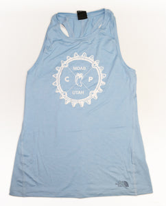 NORTHFACE Womens Hyperlayer Custom Chile pepper FD Tank - Blue or Taupe Green