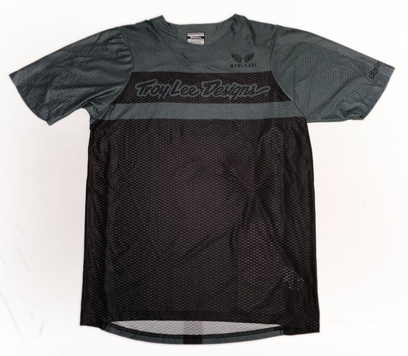 Troy Lee Designs Skyline Air S/S Custom Chile Pepper Jersey - FACTORY BLACK / GRAY