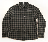 ZOIC Mens Fall Line Chile Logo FLANNEL  - GREY BUFFALO