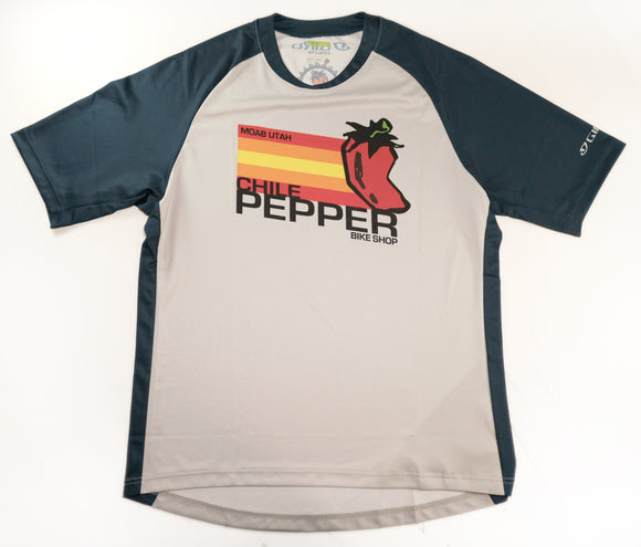 Giro Mens Chile Pepper Custom S/S Jersey - Navy
