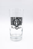 Chile Pepper Retro Glass