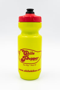 Dr. Chile Water Bottle - Green