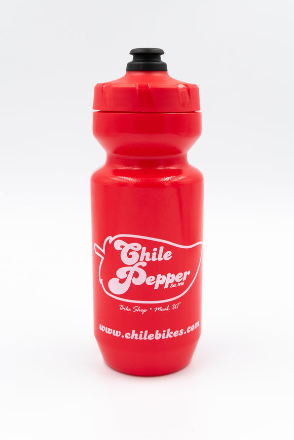 Dr. Chile Water Bottle - Red