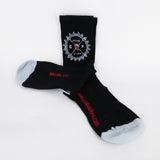 "Chile Fresh Socks 5"" Cuff - Black/Grey"