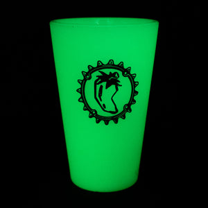 Chile Sili Pint - Glow-In-The-Dark Green