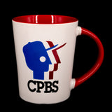 CPBS Logo Mug - White/Red
