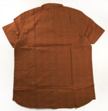 NORTHFACE Mens Hammetts Shirt S/S Chile Logo - Caramel Cafe Check Plaid
