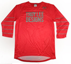 Troy Lee Designs Mens Ruckus Jersey W/Chile Pepper Dia De Logo - Red or Tangerine W/Gray