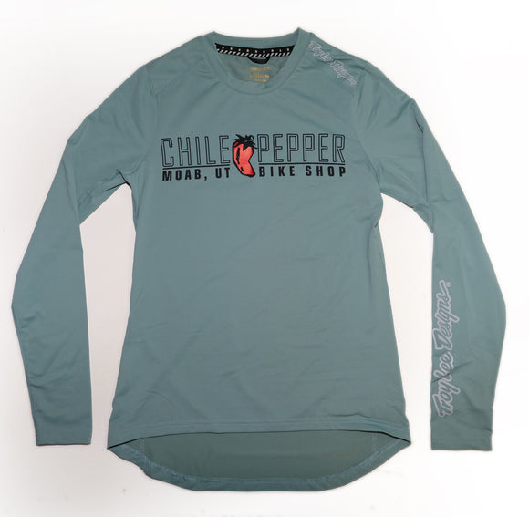 Troy Lee Designs Lilium Womens L/S Custom Chile Pepper JERSEY