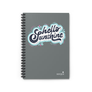 Hello Sunshine Spiral Notebook - Ruled Line