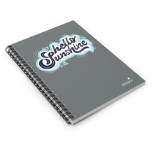 Load image into Gallery viewer, Hello Sunshine Spiral Notebook - Ruled Line