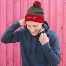 Load image into Gallery viewer, Men's Endure Pom Pom Knit Cap