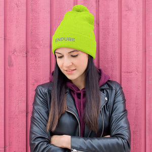 Women's Endure Pom Pom Knit Cap
