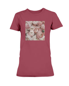 Ladies' Beloved Print Scoopneck T-shirt