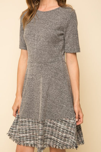 Alexis Grey Mix Dress