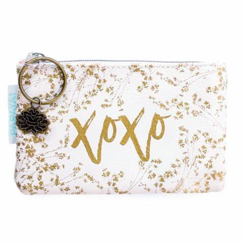 White Gilded Flower Coin Purse - Soul Of The Rose®