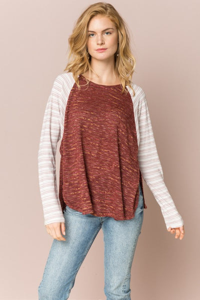 Harmony Raglan Top - Soul Of The Rose®