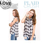 Stevie Button Down Plaid Shirt - Soul Of The Rose®