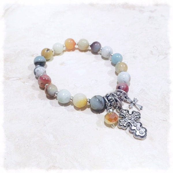 Jaila Semi Precious Stone Bracelet - Soul Of The Rose®