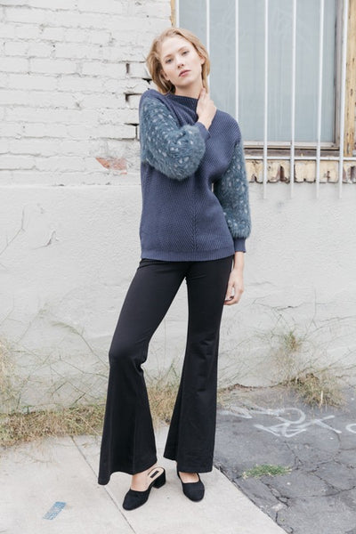 Karlee Puff Sleeve Sweater