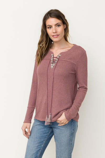 Lila Thermal Top