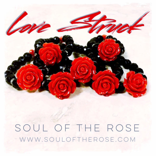 Love Struck Love Beads Bracelet - Soul Of The Rose®