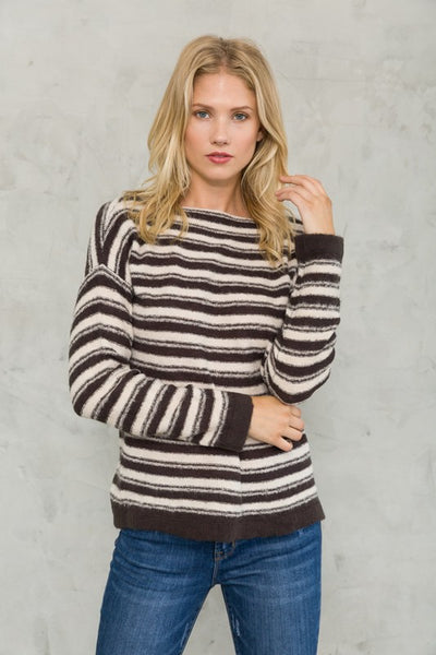 Lyra Pullover Boatneck Sweater
