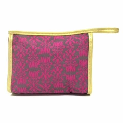 Modern Princess Zip Top Cosmetic Bag