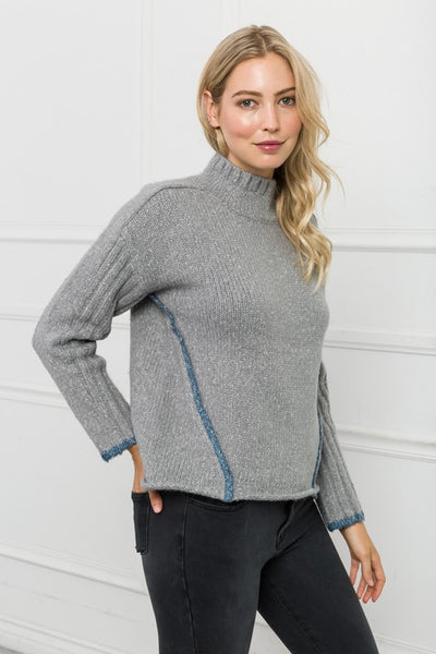 Mia High Neck Sweater