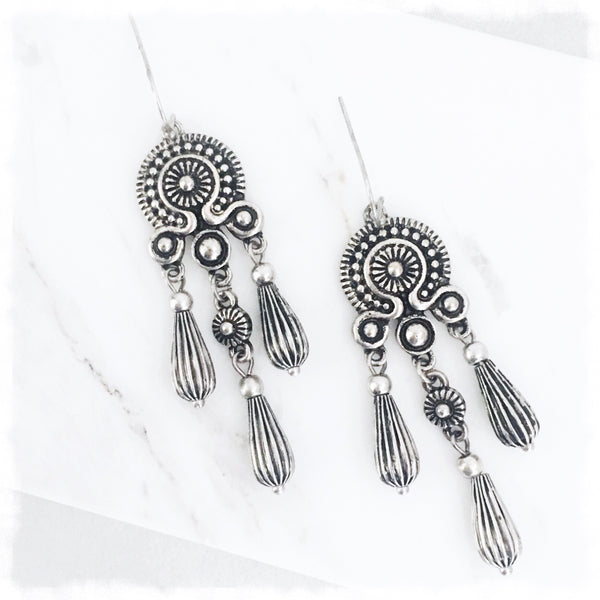 Moroccan Rain Earrings