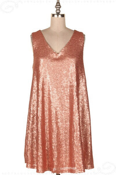 Peach Bellini Dress