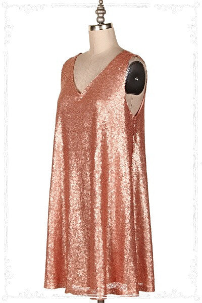 Peach Bellini Dress - Soul Of The Rose®