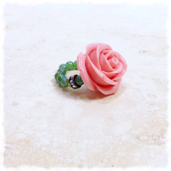 Rosa Rosa Love Beads Ring - Soul Of The Rose®