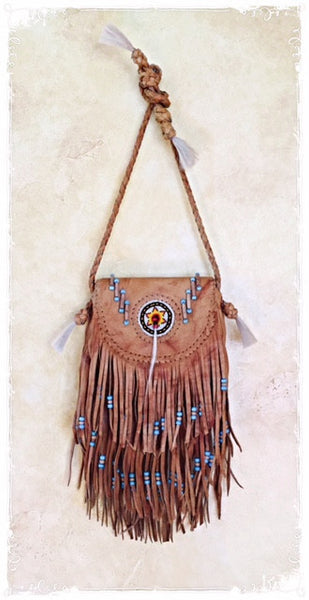 Skye Fringe Cross Body Bag - Soul Of The Rose®