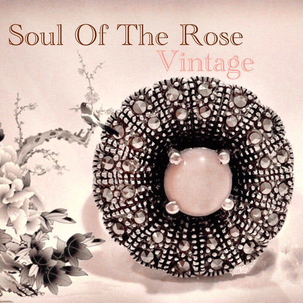 Veronica Vintage Ring - Soul Of The Rose®