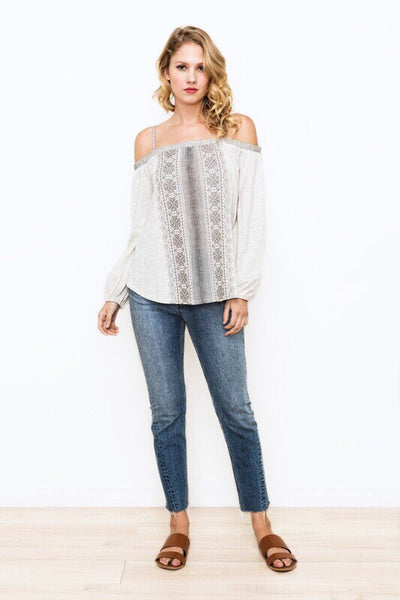 Jasmine Off Shoulder Top - Soul Of The Rose®
