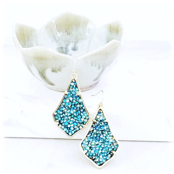 Zahava Crystal Fusion Earrings - Soul Of The Rose®